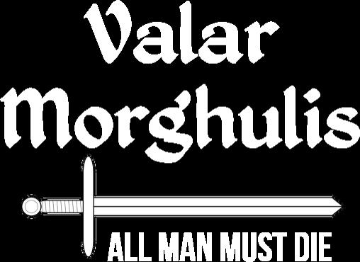 Podkoszulek męski - Valar Morghulis