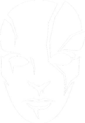 Maska - ♂ czarna