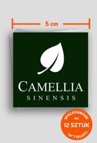 Nalepki 5 cm Camellia Sinensis