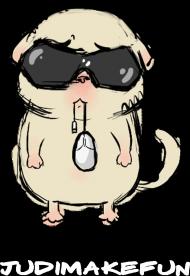 Kot z myszą - dziecięca męska