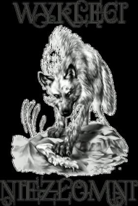 Body dziecięce WYKLĘCI NIEZŁOMNI z wilkiem