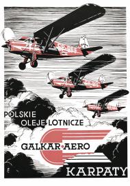Plakat A1 59x84cm POL - Karpaty vintage