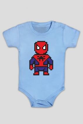 """Body dziecięce z nadrukiem """"Spiderman"""""""