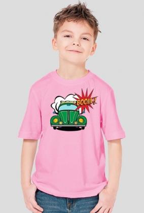 """Koszulka dziecięca z nadrukiem """"Garbus pop art"""""""