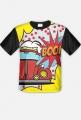 "Koszulka męska full print ""Garbus pop art""jednostronna"