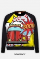 "Bluza damska full print ""Garbus pop art"""