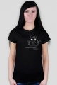 Alien Woman T-shirt-black
