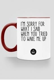I'm sorry II.