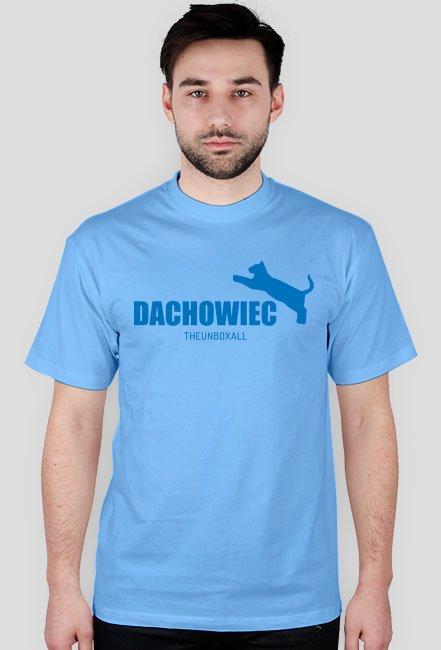 Koszulka DACHOWIEC (niebieski nadruk)