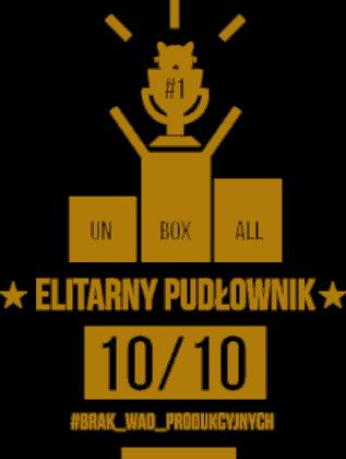 Koszulka ELITARNY PUDŁOWNIK MĘSKA (złoty nadruk)