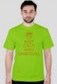 Koszulka KEEP CALM LIMITED (złoty nadruk)