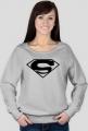 Bluzka damska z nadrukiem symbolu Superman