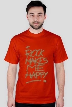 Koszulka męska ROCK HAPPY