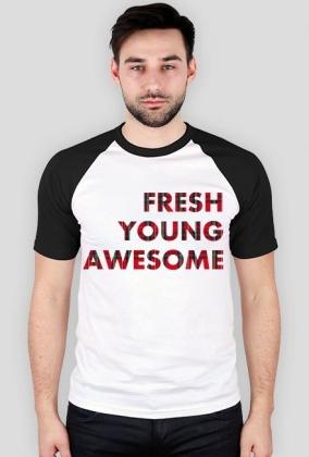 Koszulka męska FRESH z rękawami