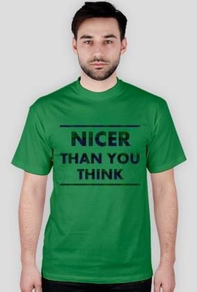 Koszulka męska NICE