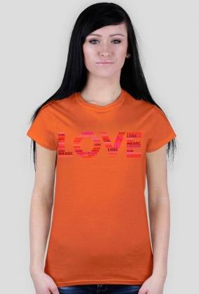 Koszulka damska LOVE