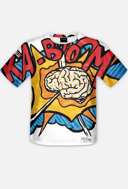 """""""koszulki z nadrukiem""""  - O'Prime Art Prints - Ka-Boom"""