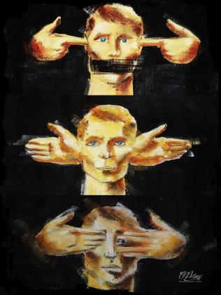 """""""koszulki z nadrukiem""""  - O'Prime Art Prints - 3 mans"""