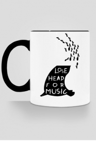 koziol lose head cup black