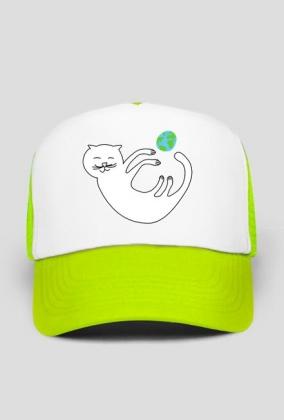 kotek czapka