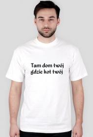 Koszulka Kot Dom/T-shirt Cat Home