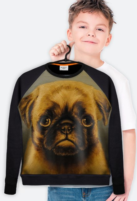 "Bluza ""Mops""/Blouse ""Pug-Dog"""