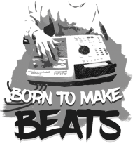 Born To Make Beats (biała)