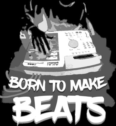 Born To Make Beats (czarna)