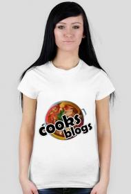 Koszulka z nadrukiem cooks blogs