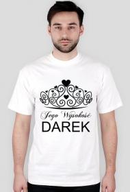 Koszulka personalizowana Jego Wysokość IMIĘ