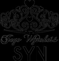 Koszulka z nadrukiem Jego Wysokość SYN