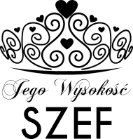 Koszulka z nadrukiem Jego Wysokość SZEF