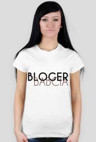 Koszulka z nadrukiem Bloger BABCIA