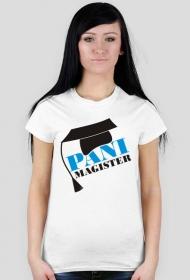 Koszulka na obronę z nadrukiem Pani Magister