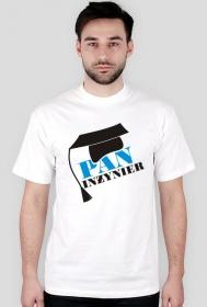Koszulka na obronę z nadrukiem Pan Inżynier