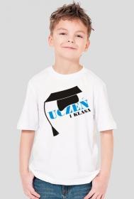 Koszulka dla ucznia z nadrukiem Uczeń 1 klasa