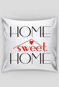 Home sweet Home czerwono czarna