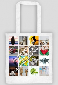 Torba na zakupy z TWOIMI zdjęciami 1 strona