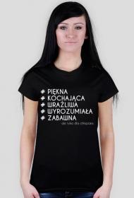 Koszulka z nadrukiem # ale tylko dla chłopaka2