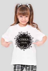 Koszulka z nadrukiem Córka Idealna