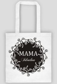 Torba na zakupy na Dzień Mamy z nadrukiem Mama Idealna