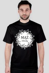 Koszulka z nadrukiem Mąż Idealny