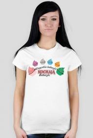 Koszulka z nadrukiem Wszystkie babeczki kochają babeczki