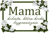 Torba z nadrukiem Mama kobieta, która kocha bezgranicznie