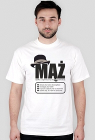 Koszulka z nadrukiem Mąż Sp. z o.o.
