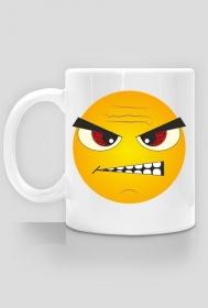 Kubek z nadrukiem Emotikon złość, foch, zdenerwowanie