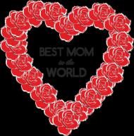 Poszewka/Poduszka na Dzień Mamy Best mom in the world