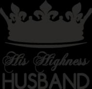 Poduszka/Poszewka z nadrukiem His Highness Husband