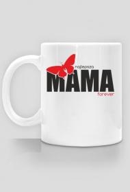 Kubek z nadrukiem na Dzień Mamy Najlepsza Mama forever