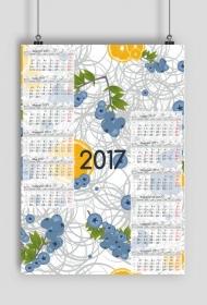 Kalendarz 2017 wzór 2 + Twoje zdjęcia